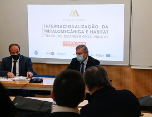 Master Export –    1ª Conferência sobre Internacionalização da Metalomecânica e Habitat